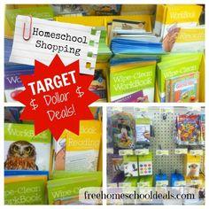 Emily's Homeschool Shopping at Target Dollar Deals