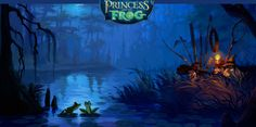 Love the artwork/settings for Princess and the Frog. Bayou and New Orleans captured beautifully!