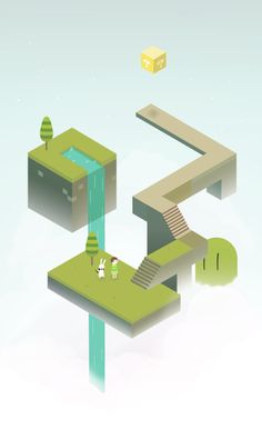 My fanart inspired in Monument Valley.