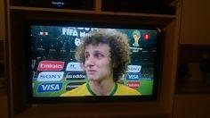 #synchroonkijken dag 2: #frustratie (foto met mobieltje genomen, Brazilië verliest met 1-7 van Duitsland)