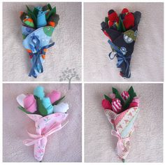 Baby Bouquets - OCCASIONS AND HOLIDAYS - Baby socks in a bib