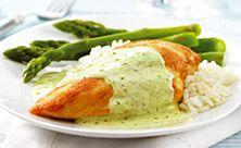Creamy Philly Pesto Chicken