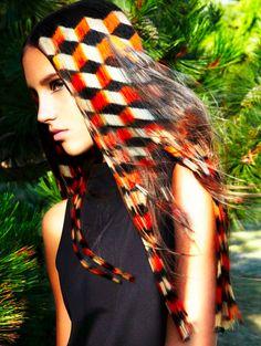 ANGELO SEMINARA - Avant-Garde Hair Designs. Amazing hair coloring technique! Wow