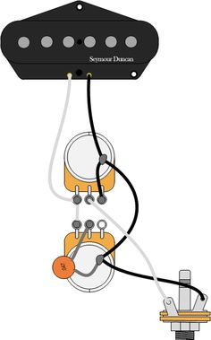 Guitar Wiring 102 | Seymour Duncan wiring diagram single pickup.
