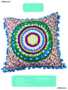 Crochet Almohadones #12 Tapestry, Blanket, Home Decor, Pillow Design, Dots, Hanging Tapestry, Tapestries, Decoration Home, Room Decor