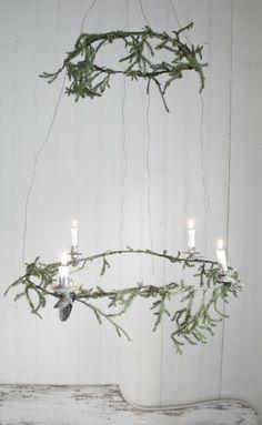diy merry pine garland weihnachten winter und diy deko. Black Bedroom Furniture Sets. Home Design Ideas