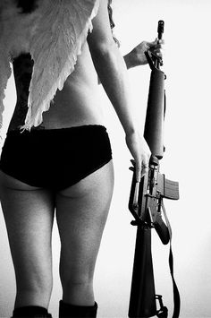 i gave that girl wings and a gun, girls love wings and guns