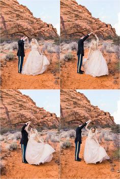 Snow Canyon | Ashley DeHart Photography | Utah Wedding Photographer | dancing with your love, red rocks, st. george
