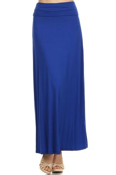 Cobalt or Coral Maxi Skirt | Gilli | S, M, L $32 — Will order Monday, 6/1 Material: 95% Viscose, 5% Spandex Made in USA