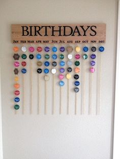 Birthday Calendar Diy Calendar Classroom Birthday Birthday Birthday Calendar Diy Diy Calendar Birthday Calendar Family Birthday Calendar Made By Me Family Birthdays Family Birthday Make An Almost No Tool Birthday Calendar Easy Diy Wall Hanger… Birthday Calendar Classroom, Birthday Calendar Board, Birthday Reminder Board, Perpetual Birthday Calendar, Diy Birthday Board, Classroom Birthday Displays, Preschool Birthday Board, Birthday Wall, Birthday Ideas