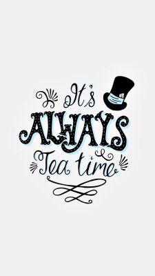 Té. Hora del té. Shanti