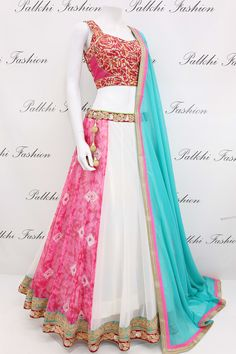 Georgette Full Flair Chaniya Choli With Beautiful Color Combination