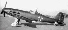 Italian FIAT G55 in Luftwaffe markings