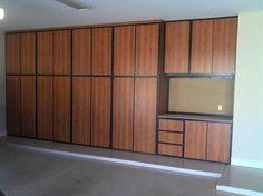 garage storage cabinets Garage Cabinet Systems, Garage Storage Cabinets, Garage House, Garage Doors, Cool Garages, Garage Remodel, Future House, Room Inspiration, New Homes