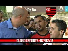 Gringos do Flamengo Ganham Música - Cafezinho com Escobar - Globo Esport...