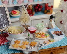 Miniature Christmas Sugar Cookie Baking Set