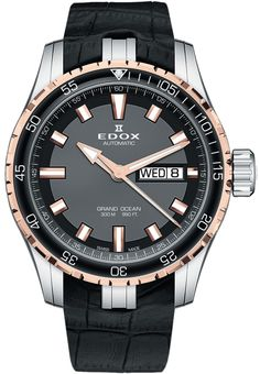 Master Horologer: Edox Grand Ocean Automatic