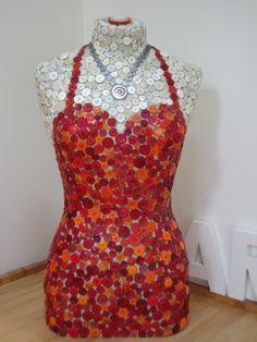 button mosaic torso