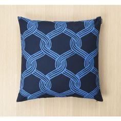 Marimekko Sulhasmies Kuddfodral Mörkblå 50x50cm