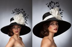 Arturo Rios Couture Hat Collection Spring...I would love to get this for next years Derby...LOVELY!♥