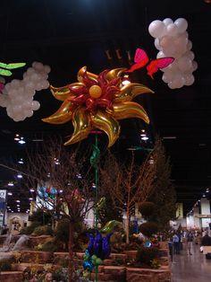 Entrance Decor Floor Orlando Florida Balloon Decorations Carnival Balloons