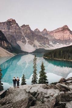 Moraine Lake in Banff National Park, Alberta. Click to check out 150 photos from coast to coast to coast that prove Canada is the prettiest country on the planet!