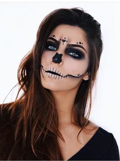Face Painting Halloween Kids, Cool Halloween Makeup, Halloween Make Up, Mermaid Costume Makeup, Rave Makeup, Carnival Makeup, Dead Makeup, Creative Makeup Looks, Horror Makeup