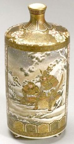 satsuma pottery |Japanese AntiquesMore Pins Like This At FOSTERGINGER @ Pinterest