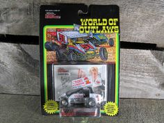 Garry Brazier #1, Racing Champions, World Of Outlaws, Sprint Cars 1993, 1/64 Scale Die Cast Model Car, 1st Series, Collectible Toys by TheStorageChest on Etsy