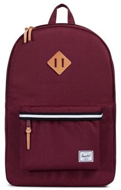 da9b9707cfe8 Herschel Men s Heritage Offset Stripe Backpack - Red Herschel Backpack  Outfit