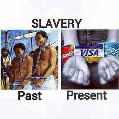 Think about it.  Release yourself from the world of credit by paying it off and living within your means. LO