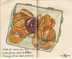 Donuts and croissants. | Flickr - Photo Sharing!