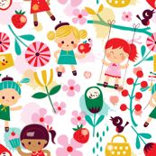 dreaming of summer by bora, click to purchase fabric