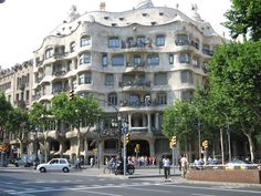 casa mila in barcelona spain casa mila is uexuberant contextrich