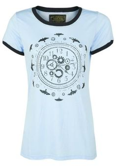 Clocks & Birds - T-shirt van Miss Peregrine's Home For Peculiar Children