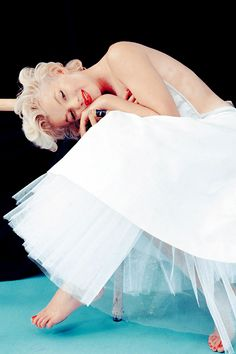 Marilyn Monroe photographed by Milton Greene, 1954