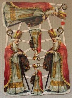Afbeeldingsresultaat voor afbeelding poezie plaatjes met glitter St Nicholas Day, Winter Wonderland, Saints, Painting, December, Glitter, Christmas, Saint Nicholas, Papa Noel