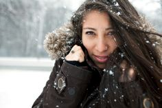 Beauty Tips for Dry, Brittle Winter Hair #winter #hair #tips