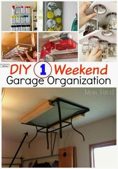 Top Storage Ideas For The Garage- CLICK PIC for Lots of Garage Storage Ideas. 57726739 #garage #garageorganization