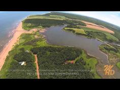 Prince Edward Island Real Estate: Dune Road, St. Felix Overview with Aer...