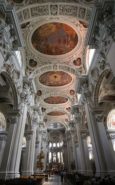 St. Stephens Cathedral - Passau .Germany