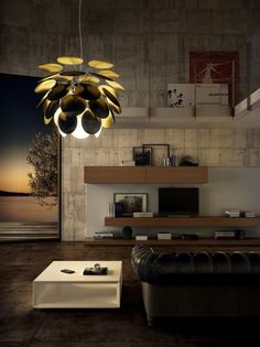 The Discoco Pendant Light by #Marset creates an elegant and mysterious atmosphere. All Marset fixtures are now on sale! #springsale #sale #%off #deal #lightingsale #interiordeluxesale