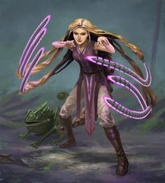 Artista cria versões incríveis das Princesas Disney como Guerreiras Jedis! - Legião dos Heróis