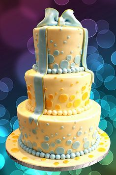 wedding cake karen by The House of Cakes Dubai, via Flickr