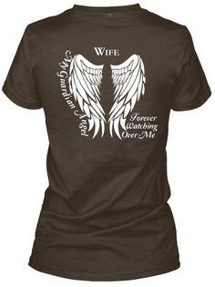 Wife Guardian Angel Lady T-Shirt