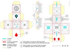 Voici un tutorial qui vous aidera à monter le robot accessible en exclusivité sur le stand Japell-Clément au salon Graphitec jusqu'au 11 juin, pavillon3. Amusez-vous bien ! Tutorial, Voici, Robot, Creations, Map, Special Effects, June, Drawing Rooms, Robotics