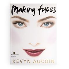 A classic! Kevyn Aucoin Making Faces
