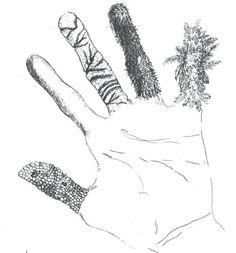 texture fingers