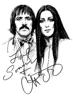 This is what was mailed back to you in the 70's when you wrote Sonny & Cher a Fan Letter. I remember being SO EXCITED!