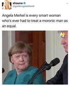 Chancellor Angela Merkel on Donald Trump